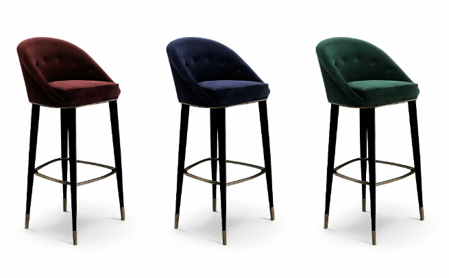 BRABBU's New Collection - Colorful Bar Stools