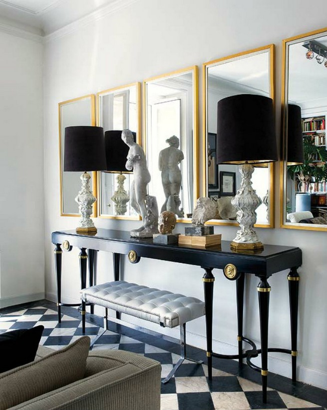 Edgy Console Tables For A Modern Home Decor News Home Decorators Catalog Best Ideas of Home Decor and Design [homedecoratorscatalog.us]