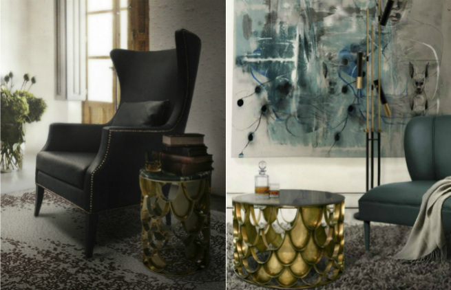 New Brass Console Table by BRABBU it's the new member of KOI Family 3