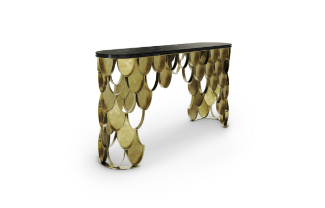 New Brass Console Table by BRABBU it's the new member of KOI Family 4