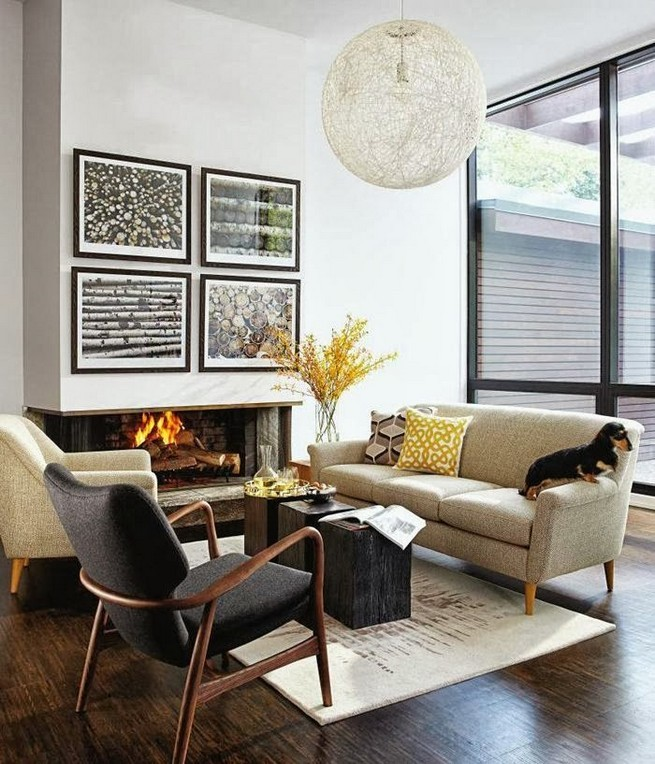 Upholstered chairs for modern living spaces news - Modern upholstered living room chairs ...