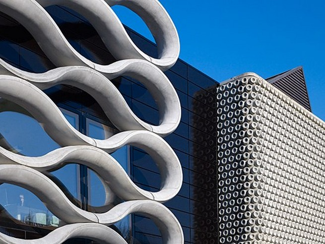 A concrete masterpiece: Bruno Bishofberger's new gallery A concrete masterpiece: Bruno Bishofberger's new galleryA concrete masterpiece Bruno Bishofberger   s new gallery