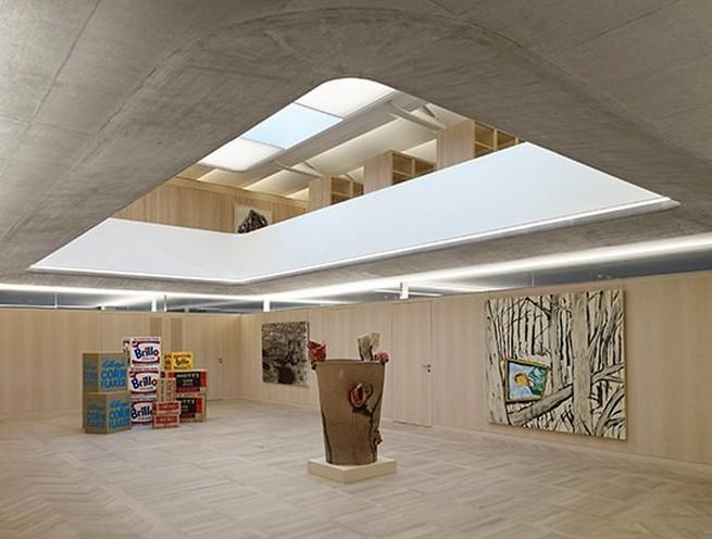 A concrete masterpiece: Bruno Bishofberger's new gallery A concrete masterpiece: Bruno Bishofberger's new galleryA concrete masterpiece Bruno Bishofberger   s new gallery 1