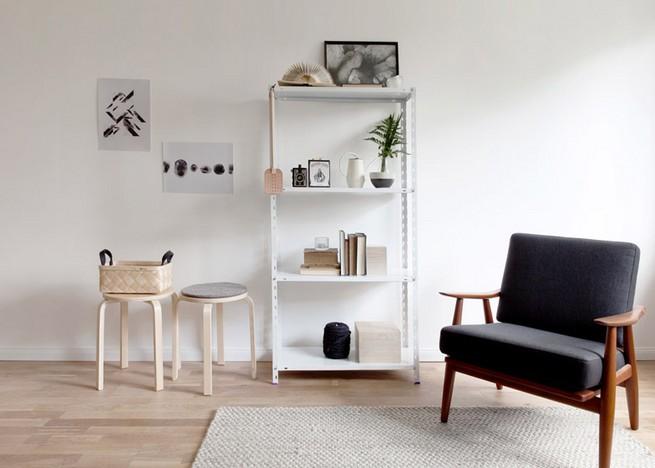berlin apartment furnished with sarah van peteghem vintage. Black Bedroom Furniture Sets. Home Design Ideas