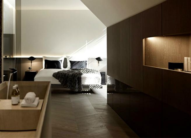 Bernd Gruber designed a luxury loft in Viena 2 Bernd Gruber designed a luxury loft in VienaBernd Gruber designed a luxury loft in Viena 2