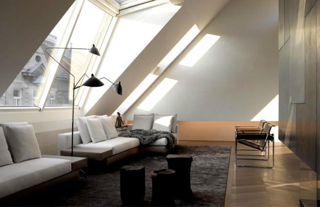 Bernd Gruber designed a luxury loft in Viena 3 Bernd Gruber designed a luxury loft in VienaBernd Gruber designed a luxury loft in Viena 3
