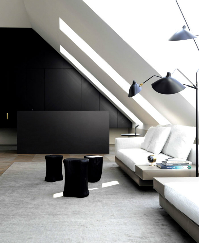Bernd Gruber designed a luxury loft in Viena 7 Bernd Gruber designed a luxury loft in VienaBernd Gruber designed a luxury loft in Viena 7
