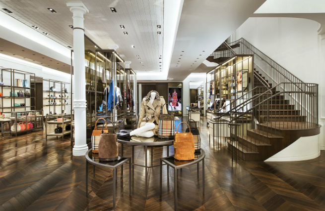 Burberry opens its new expanded store in soho nyc news for Interior design events nyc