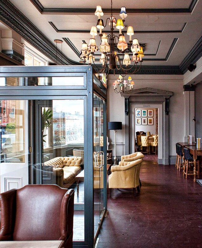 Contemporary gastro pub decor by dv designs news