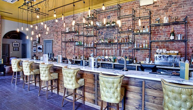 Contemporary Gastro Pub Decor By Dv8 Designs News