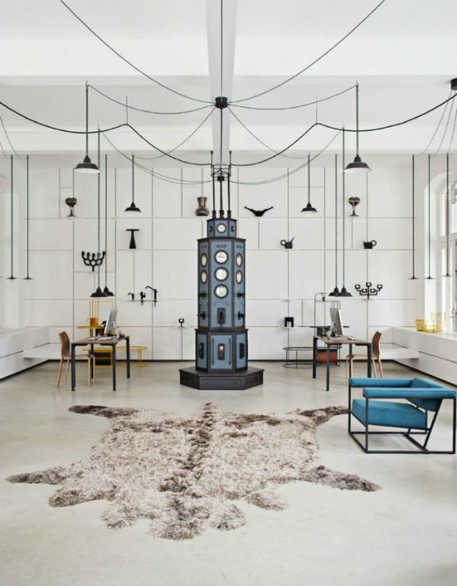 Discover the new interior design showroom by Roderick Vos Studio's 1