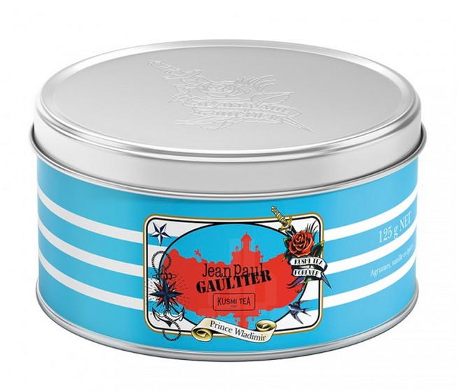 Kusmi tea's emblematic blends dressed up by Jean Paul Gaultier Kusmi tea's emblematic blends dressed up by Jean Paul GaultierKusmi teas emblematic blends dressed up by Jean Paul Gaultier 4