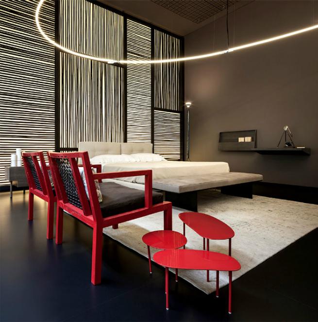 Living Divani has a temporary contemporary store during Expo Milano ...