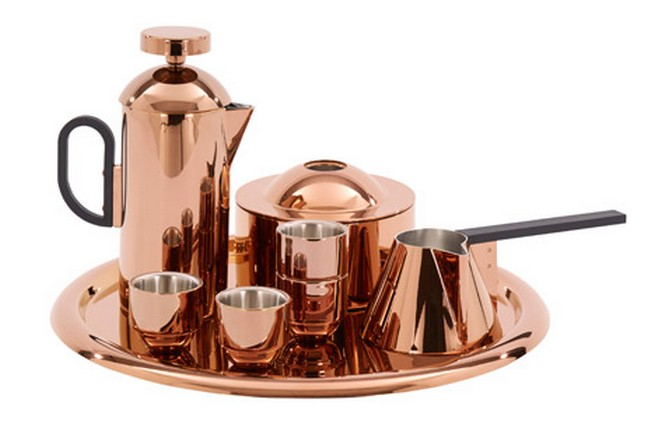 New copper coffee set designed by Tom Dixon  New copper coffee set designed by Tom DixonNew copper coffee set designed by Tom Dixon 1