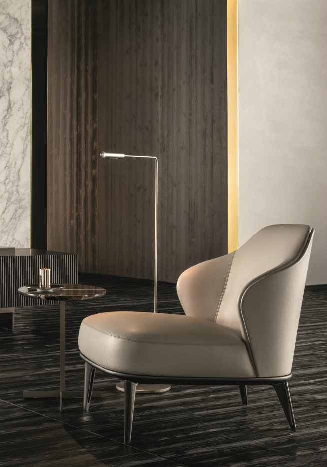 The new Minotti Armchairs are elegant and protective 3 The new Minotti Armchairs are elegant and protectiveThe new Minotti Armchairs are elegant and protective 3