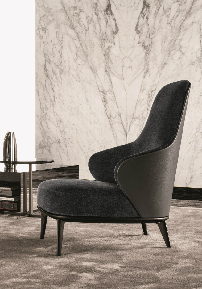 The new Minotti Armchairs are elegant and protective 4 The new Minotti Armchairs are elegant and protectiveThe new Minotti Armchairs are elegant and protective 4