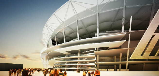 The new Rome Soccer Stadium is inpired by the Colosseum 4 The new Rome Soccer Stadium is inpired by the ColosseumThe new Rome Soccer Stadium is inpired by the Colosseum 4