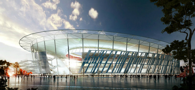 The new Rome Soccer Stadium is inpired by the Colosseum 5 The new Rome Soccer Stadium is inpired by the ColosseumThe new Rome Soccer Stadium is inpired by the Colosseum 5
