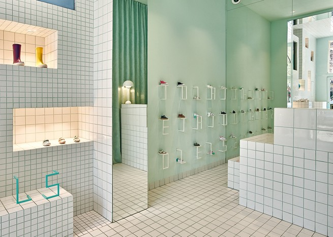 Little Shoes Store Interior Design Project By Nábito Little Shoes Store  Interior Design Project By NábitoLittle