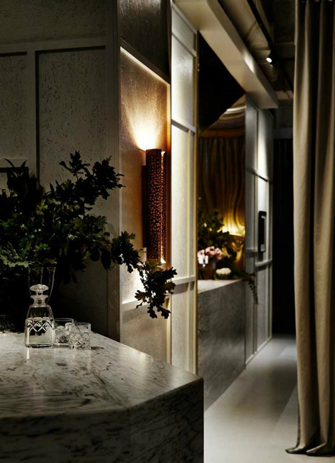 Prix Five Restaurant in Australia with BRABBU's VELLUM Wall Lamp 1 Prix Fixe Restaurant in Australia with BRABBU's VELLUM Wall LampPrix Five Restaurant in Australia with BRABBUs VELLUM Wall Lamp 1