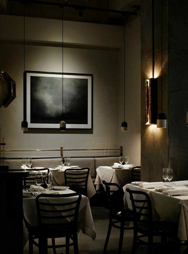 Prix Five Restaurant in Australia with BRABBU's VELLUM Wall Lamp 2 Prix Fixe Restaurant in Australia with BRABBU's VELLUM Wall LampPrix Five Restaurant in Australia with BRABBUs VELLUM Wall Lamp 2