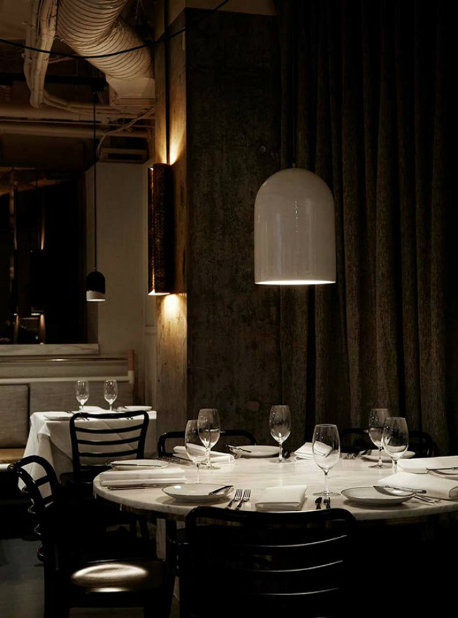 Prix Five Restaurant in Australia with BRABBU's VELLUM Wall Lamp 3 Prix Fixe Restaurant in Australia with BRABBU's VELLUM Wall LampPrix Five Restaurant in Australia with BRABBUs VELLUM Wall Lamp 3