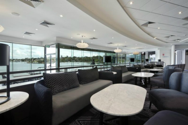 Sydney Rowing Club uses BRABBU\'s DALYAN Armchair in its lounge area ...