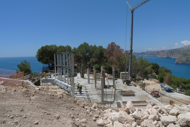 The new project by Ramón Esteve has a breathtaking view to the Mediterranean 1 The new project by Ramón Esteve has a breathtaking view to the MediterraneanThe new project by Ram  n Esteve has a breathtaking view to the Mediterranean 1