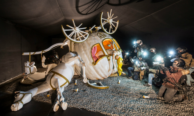 banksy dismaland pictures banksy pictures 8 Banksy's Dismaland in pictures: where dreams become the society's realitybanksy dismaland pictures banksy pictures 8