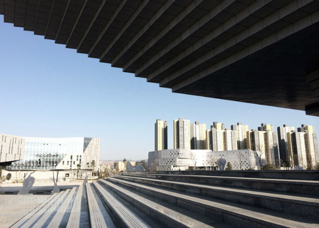 china museum atelier alte chinese firms hodor design group 1 A new museum in China features a roof shaped like an upside-down staircasechina museum atelier alte chinese firms hodor design group 1