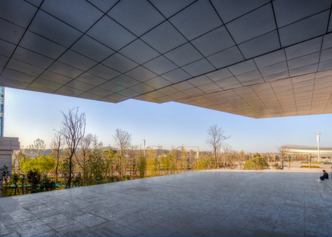 china museum atelier alte chinese firms hodor design group 2 A new museum in China features a roof shaped like an upside-down staircasechina museum atelier alte chinese firms hodor design group 2