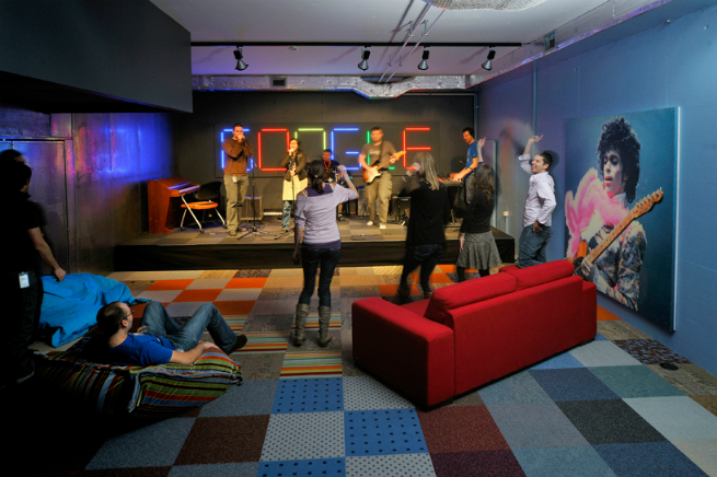 Interview with the studio responsible for google 39 s offices for Office design google