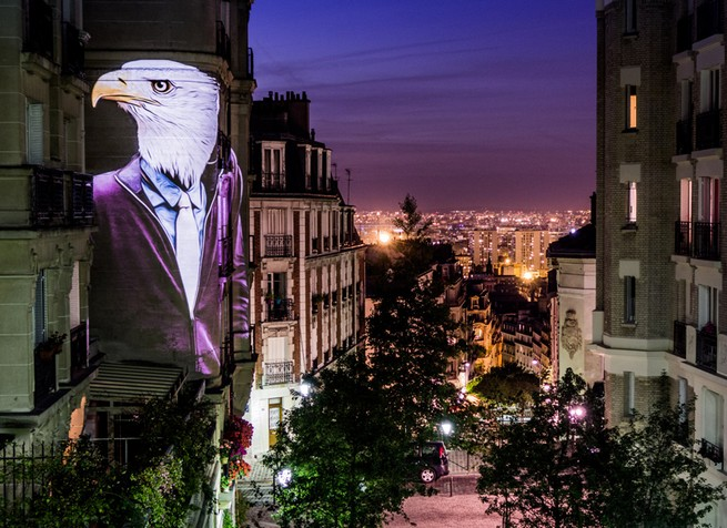 A safari of smartly-dressed wildlife on the streets of Paris projected by Julien Nonnon A safari of smartly-dressed wildlife on the streets of Paris projected by Julien NonnonA safari of smartly dressed wildlife on the streets of Paris projected by Julien Nonnon 2