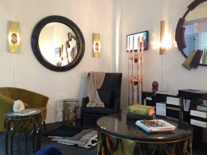 An exhibition of mid-century modern furniture and contemporary lighting at Decorex 2015 1 Between the Mid Century and the Contemporary Design at Decorex 2015An exhibition of mid century modern furniture and contemporary lighting at Decorex 2015 1