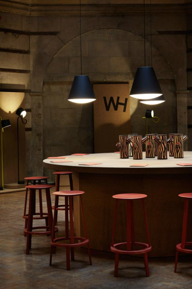 London Design Festival 2015 Joel Hoff new rotating table lamp on exhibition at London Design Festival 2015London Design Festival 20152
