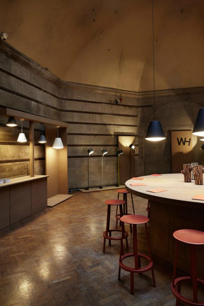 London design festival Joel Hoff new rotating table lamp on exhibition at London Design Festival 2015London design festival2