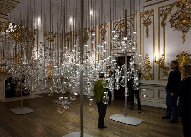 Magic lighting installation at V&A Museum London Design Festival 2015 – Magic lighting installation at V&A MuseumMagic lighting installation at VA Museum6