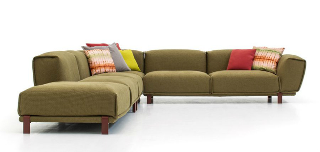 "design furniture new products modern interior design Patricia Urquiola's new ""Bold Sofa"" for Morosodesign furniture new products modern interior design"