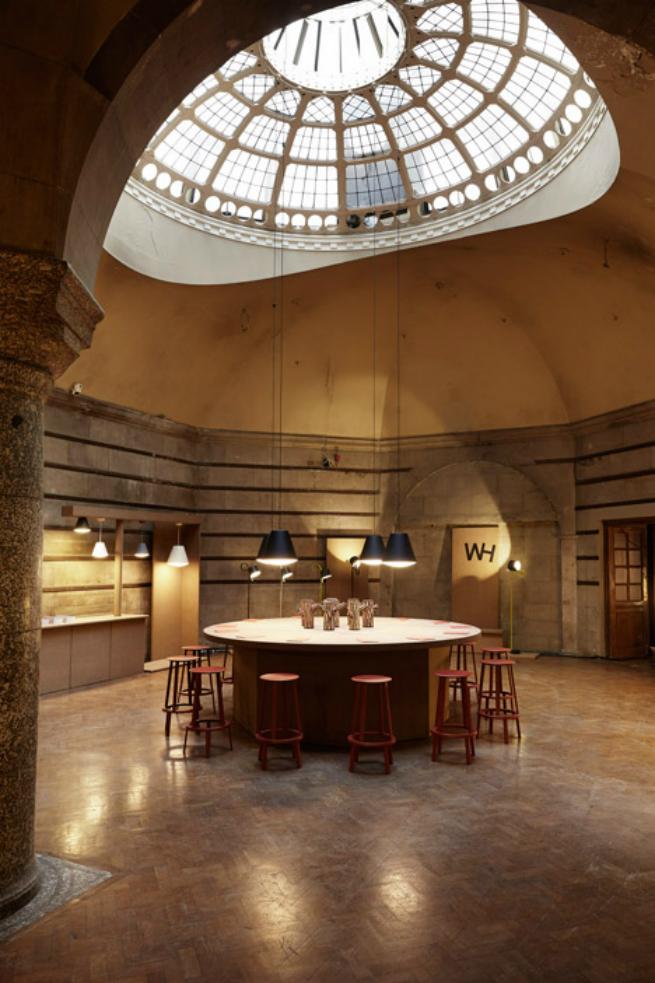 joell hoff Joel Hoff new rotating table lamp on exhibition at London Design Festival 2015joell hoff