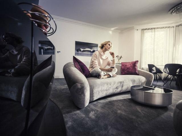 Mercedes Benz living frazer apartment london London luxury Apartments designed by Mercedes BenzMercedes Benz living frazer apartment london