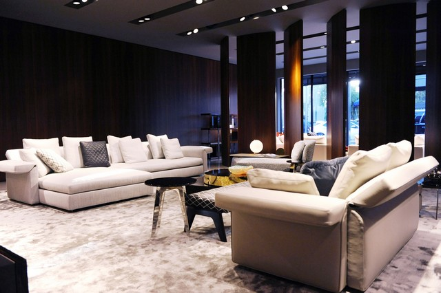 Miami Design District News Inside New Minotti Store Opening Miami Design  DistrictMiami Design District News: