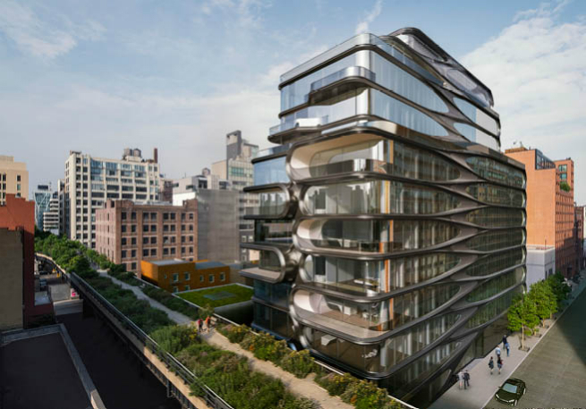 Zaha Hadid's sculptural take on New York 4 Zaha Hadid's sculptural take on New YorkZaha Hadid   s sculptural take on New York 4
