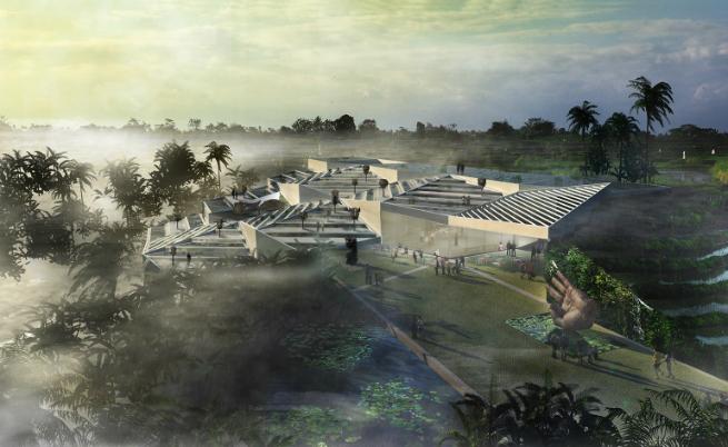 architecture portfolio arandalasch unveils museum that blends art