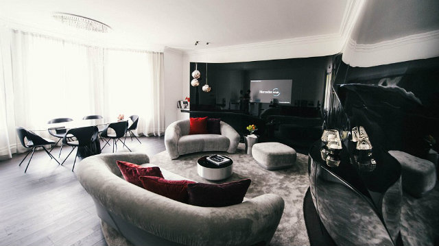 luxury apartments in london designed by mercedes benz London luxury Apartments designed by Mercedes Benzluxury apartments in london designed by mercedes benz