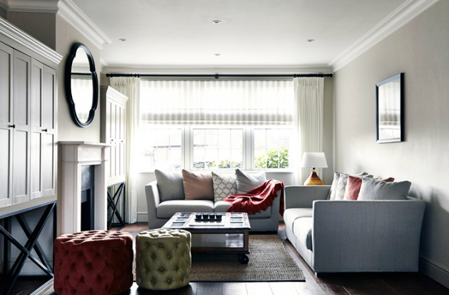 Luxury house in london by the interior design studio for House interior design event