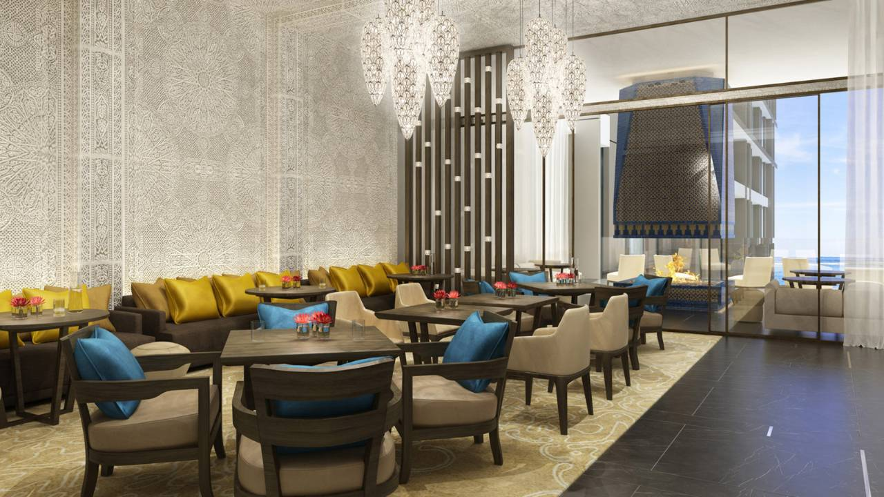 Hospitality design four seasons hotel casablanca in morocco for Hotel design marrakech
