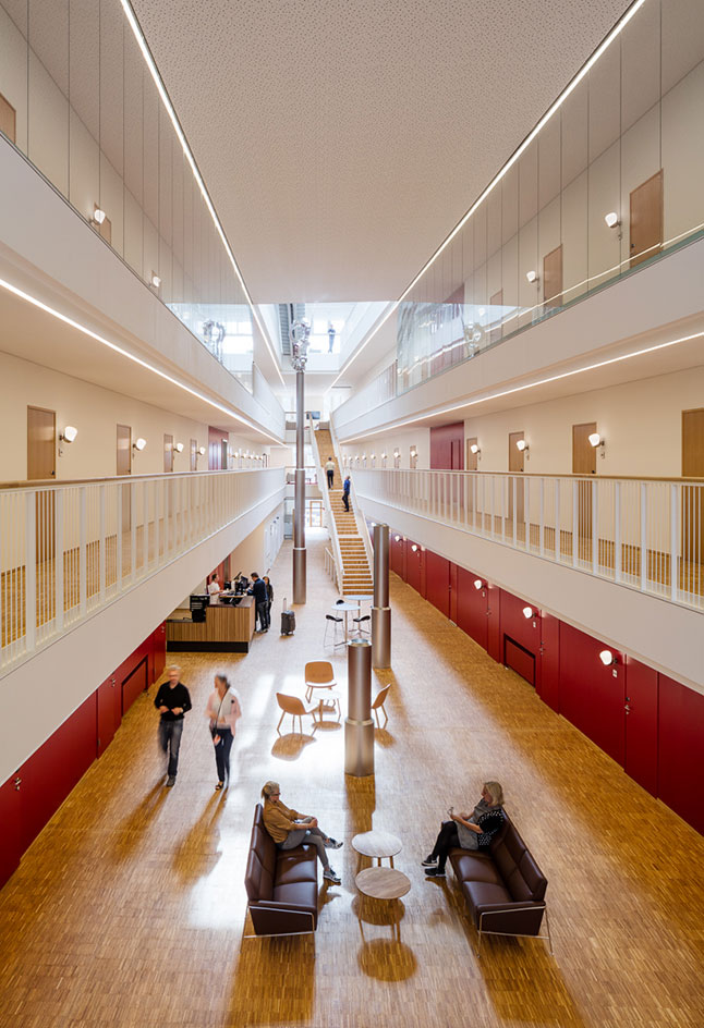 health care news 3xn s patient hotel arrives in copenhagen news rh brabbu com