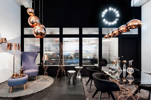 things to do at manhattan visit new tom dixon 39 s showroom. Black Bedroom Furniture Sets. Home Design Ideas