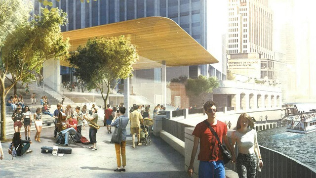 Architecture News: Foster + Partners designed Chicago New Apple Store