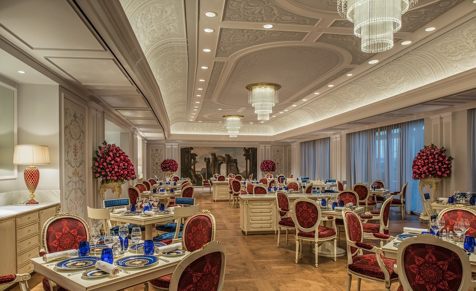 Restaurant At Palazzo Versace Dubai Design NewsDesign News Hotel In Dubairestaurant